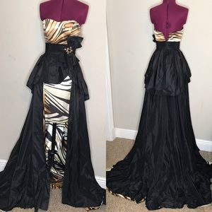 Black Tony Bowls Evening NWOT
